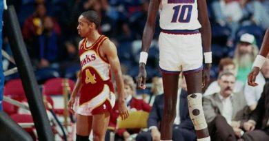 Manute Bol el más alto de los más altos de la historia NBA