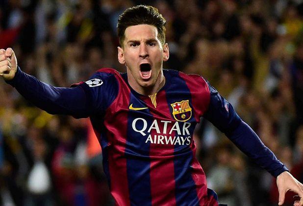 Messi más goles en una temporada