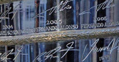 El Ranking de los Campeones de la Formula 1