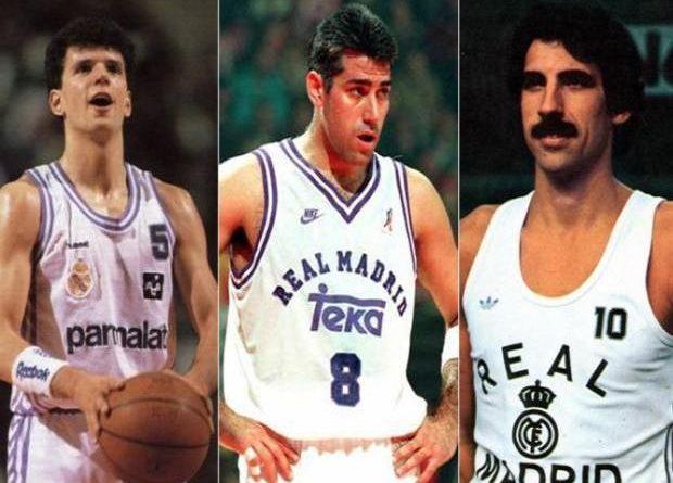 Los Tres máximos anotadores del Real Madrid