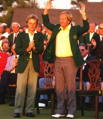 Jack Nicklaus Masters de Augusta
