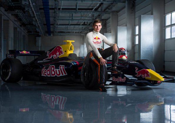 Verstappen el piloto mñas joven en debutar en Formula 1