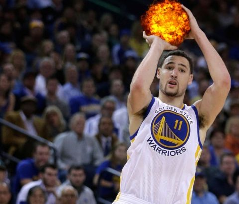 Klay Thompson record de anotación en un cuarto