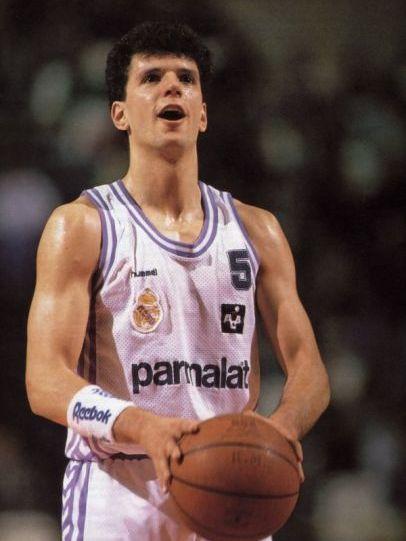 Petrovic uno de los tres máximos anotadores del Real Madrid