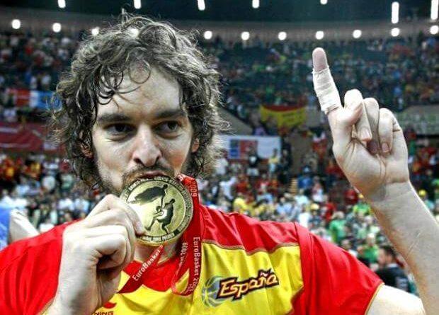 Pau Gasol más medallas del baloncesto español