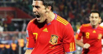 David Villa máximo goleador español