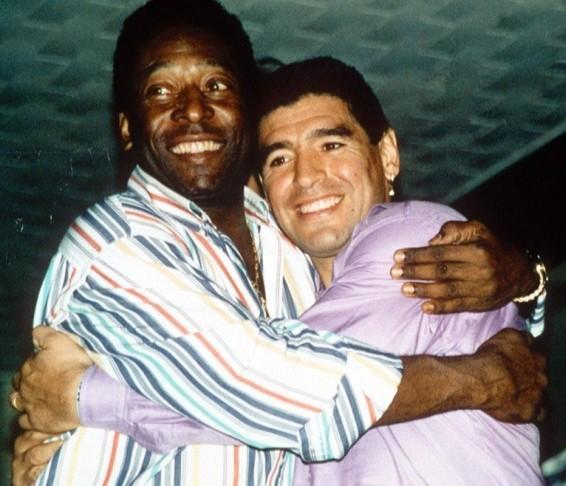 Maradona y Pele