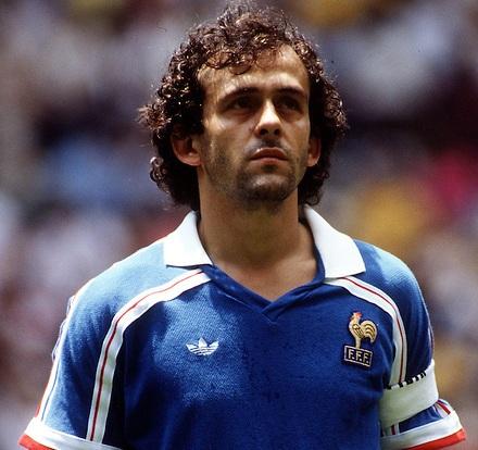 Michel Platini el número 1 del Ranking de los mñaximos goleadores de la Eurocopa