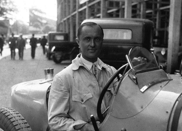El piloto más viejo en la Formula 1 Louis Chiron