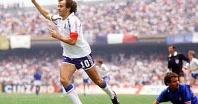 Platini el número 1 de los máximos goleadores de la Eurocopa