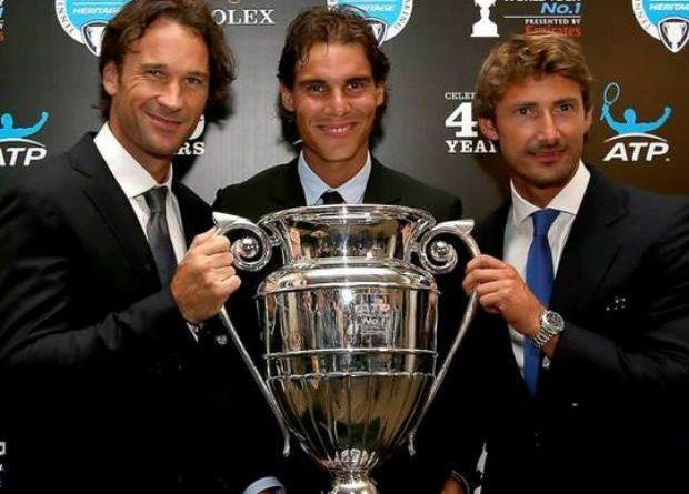Los 3 números 1 ATP del Tenis Español