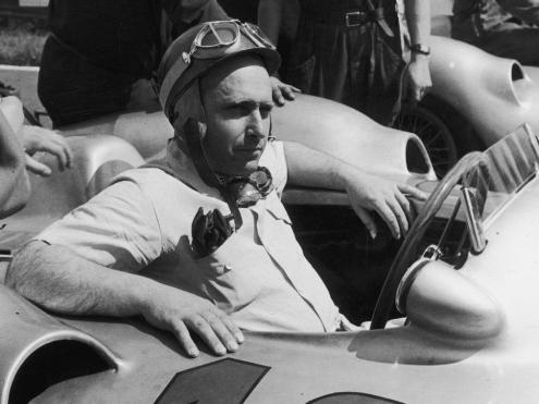 Fangio el Campeón más viejo de la Formula 1
