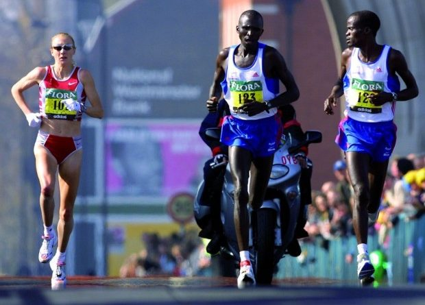 Paula Radcliffe el record mundial del maratón femenino