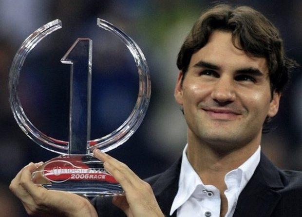 Federer más semanas número 1 de la ATP