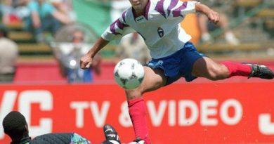 Oleg Salenko máximo goleador en un partido de la Copa del mundo