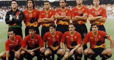 oro olímpico de Fútbol bARCELONA 1992