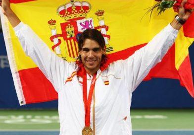 Los tenistas del Golden Slam en la carrera