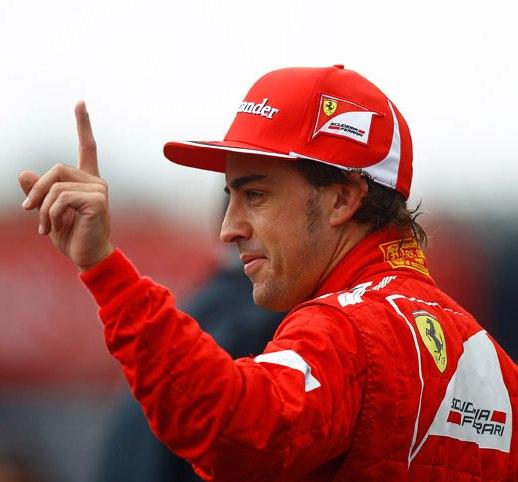 Fernando Alonso Pole