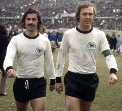 Muller y Beckenbauer