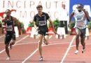 El atleta blanco más rápido en los 100 metros