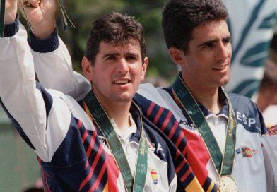 El único doblete del Olimpismo Español