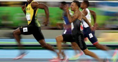 ¿Eso es todo lo que te queda Usain Bolt?