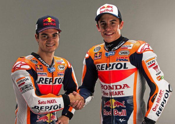 Marquez y Pedrosa