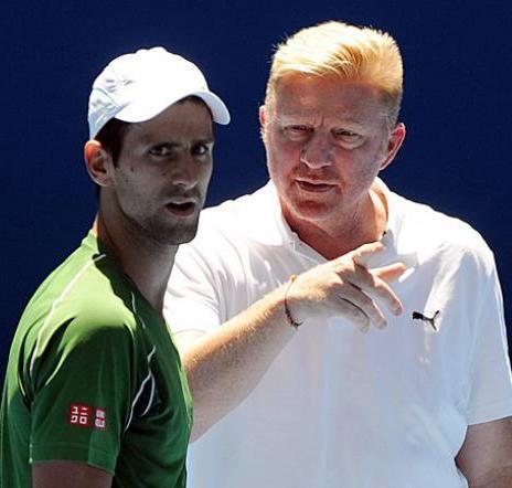 Djokovic y Becker