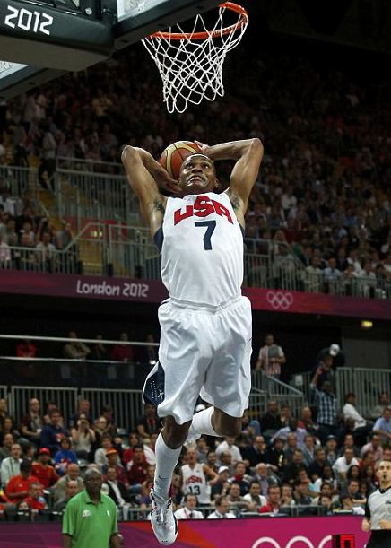 Russell Westbrook London 2012