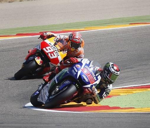 Motorland Aragon Marquez y Lorenzo