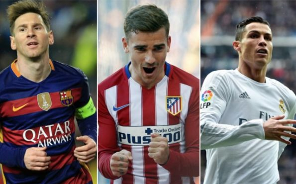 Barcelona Madrid Atlético