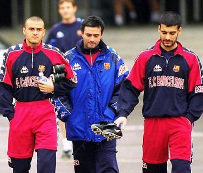 Luis enrique guardiola y Mourinho