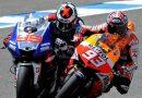 Los números de los pilotos españoles de Moto GP