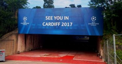 Camino hacia Cardiff
