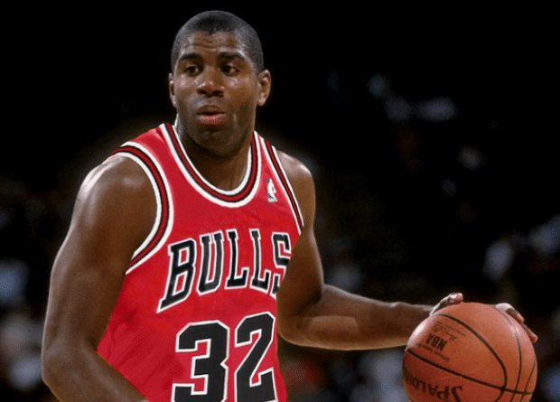 Magic Johnson pudo ser jugador de los Bulls