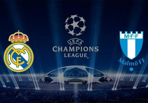 Real Madrid en la Champions fue frente al Malmö por 8 a 0