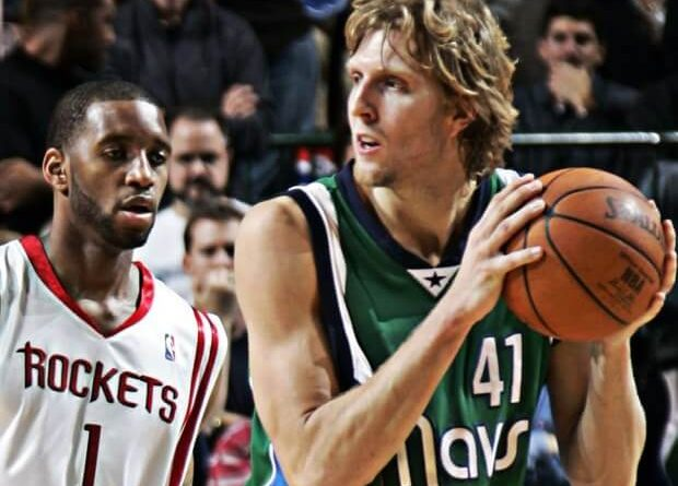Dirk Nowitzki venció a Tracy Mcgrady
