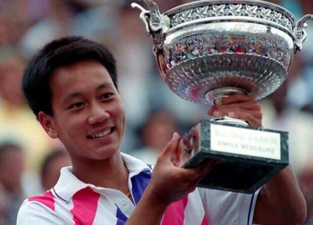 Michael Chang más joven en ganar un Grand Slam