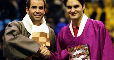 números 1 perfectos Sampras Federer