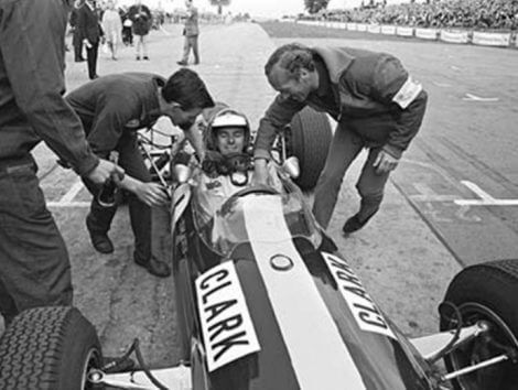 JIM CLARK y TEAM LOTUS