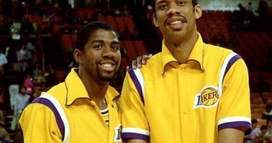Kareem y Magic MVP más viejo y el más joven