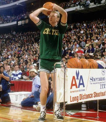 Larry bird concurso de triples