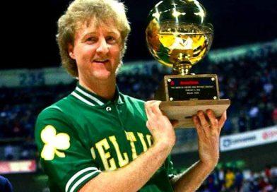 Larry Bird… el primer Rey del triple de la NBA