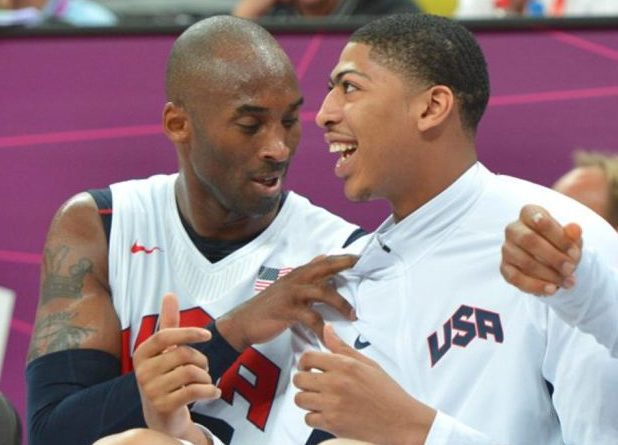 Anthony Davis y Kobe Bryant Londres 2012