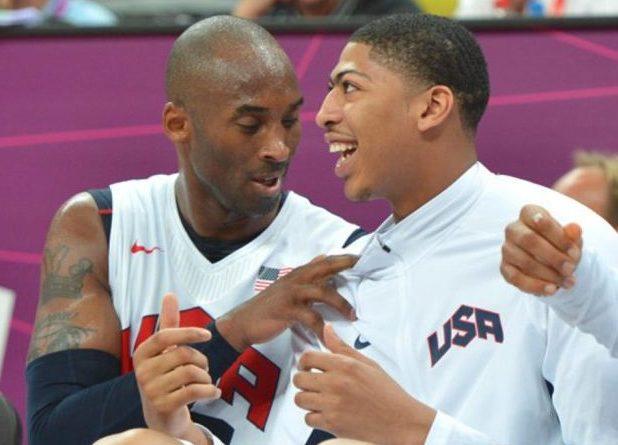Anthony Davis y Kobe Bryant Londres 2012