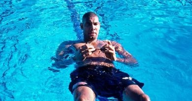 Tim Duncan piscina