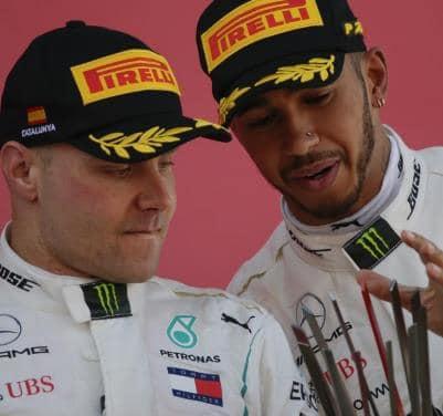 Hamilton Bottas Mercedes