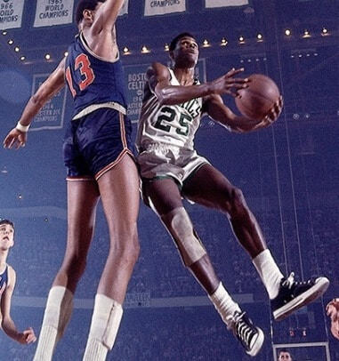 K.C. Jones Wilt Chamberlain