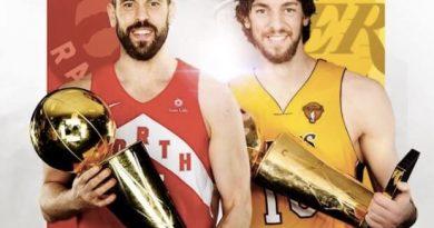 Los Gasol, la mejor pareja de hermanos de la historia de la NBA