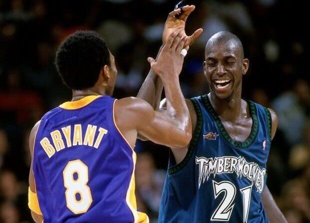 2007 Kobe Bryant y Kevin Garnett